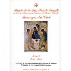 Paroles de La Très Sainte Trinité Tome 3