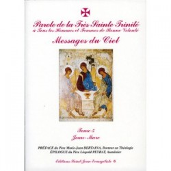 Paroles de La Très Sainte Trinité Tome 5