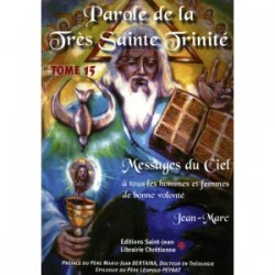 Paroles de La Très Sainte Trinité Tome 15