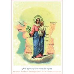 Poster Marie, Reine de France