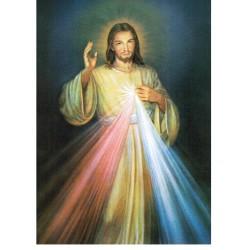[Grand modèle] Poster Jésus Miséricordieux