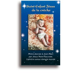 Saint Enfant Jésus de la crèche