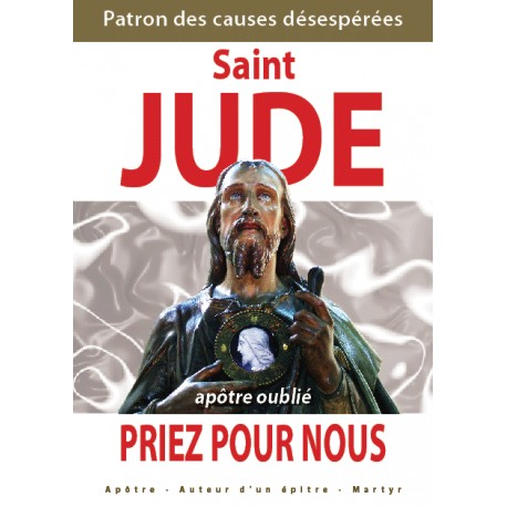 Saint Jude, apôtre oublié