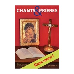 Carnet de chants et prières (Grand Format)
