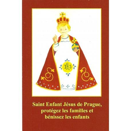 Image- Saint Enfant Jésus de Prague, protégez les familles et bénissez les enfants