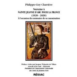 Neuvaine à Ste Jeanne d'Arc